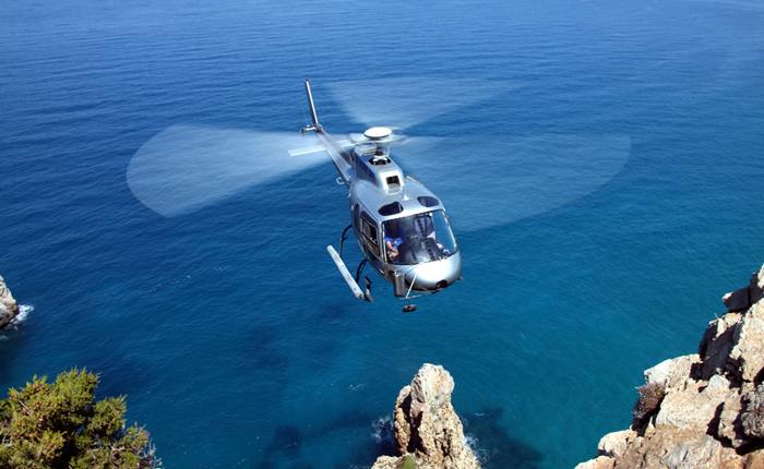 Noleggio elicotteri lago di Garda