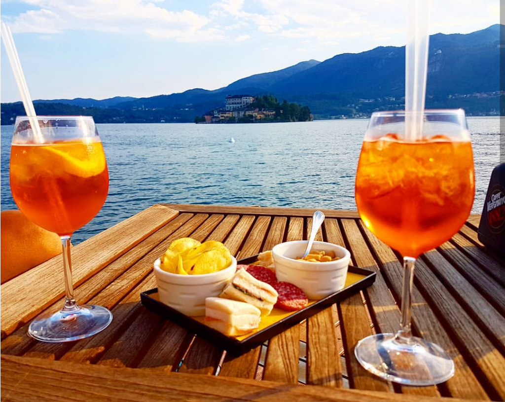 Aperitivo lago di Garda