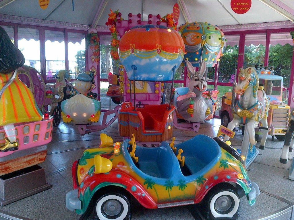 Giostre per bambini a Desenzano