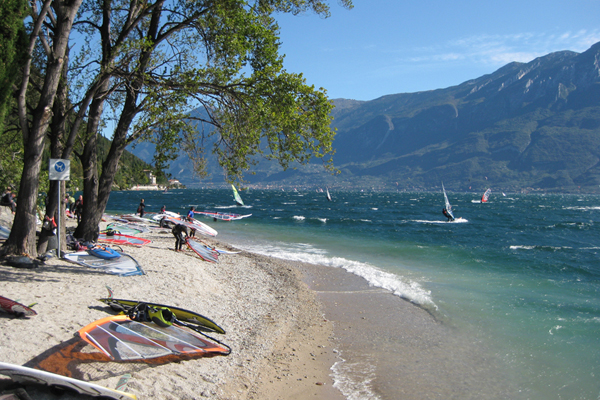 Spiagge a Campione del Garda