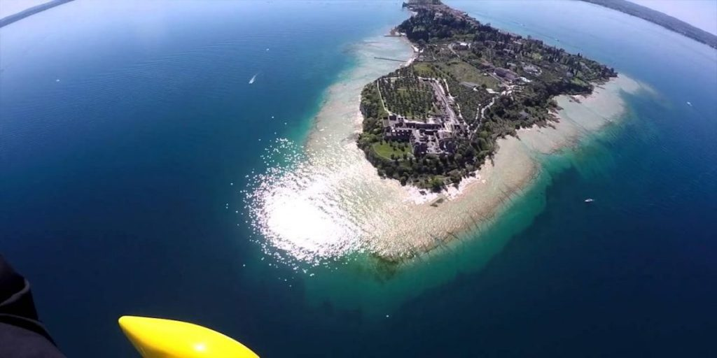 Addio al celibato in elicottero lago di Garda