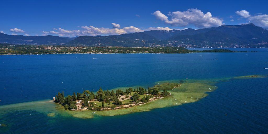 Isole lago di Garda