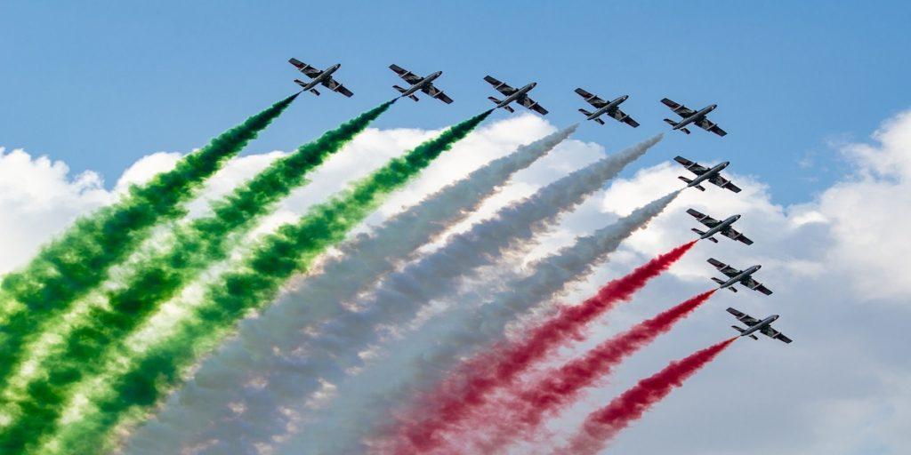 Frecce tricolori Desenzano 2021